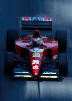 1993 Gerhard Berger - Ferrari F93A 1993.