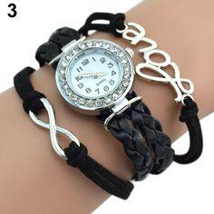 $1.92 (Buy here: https://alitems.com/g/1e8d114494ebda23ff8b16525dc3e8/?i=5&ulp=https%3A%2F%2Fwww.aliexpress.com%2Fitem%2FHot-Sales-Multilayer-Braided-rope-Bracelet-Wristwatch-Words-Decor-Charm-Bangle-Design-NO181-5V7X%2F32760602079.html ) Hot Sales Multilayer Braided rope Bracelet Wristwatch Words Decor Charm Bangle Design NO181 5V7X for just $1.92