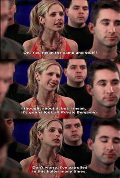 It's a very patrol friendly halter really...Buffy Goodness