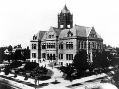#837: Orange County Courthouse, Santa Ana Historical Landmarks, Orange County, Notre Dame, Vintage Photos, Cathedral, Oc, Santa, California, Weddings