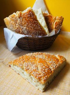 Bread Dumplings Recipes, Bread Recipes, Best Homemade Bread Recipe, Polish Recipes, Polish Food, Finger Foods, Hamburger, Food And Drink, Yummy Food