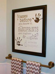handprints poster from Barn Owl Primitives