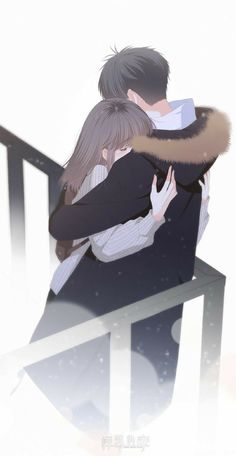 CLICK IF YOU LOVE ANIME ------------- Anime Couple - I wish I could always give you a hug… I wish that whenever there's something good or bad happening, we'll stay strong and always be there for each other. Kawaii Anime, Anime Cupples, Chica Anime Manga, Anime Couples Drawings, Anime Couples Manga, Anime Boys, Anime Couples Hugging, Cartoon Drawings, Cute Couple Art
