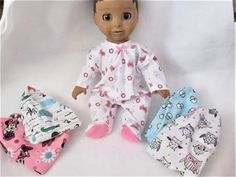Cute Doll Bella Blue Handmade Doll Shabby Chic Doll