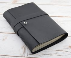 Black Leather Journal - travel journal - prayer notebook - christian journal  - prayer journal - gift for men and women - personalized book