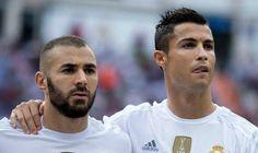 CR7 y Benzema son duda para la vuelta ante City