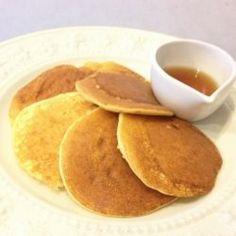 A batch of almond flour pancakes