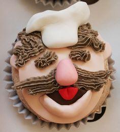 The Swedish Chef Cupcake