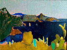 Zo zag de omgeving van St Tropez eruit in 1947. Door de ogen van Wim Oepts.