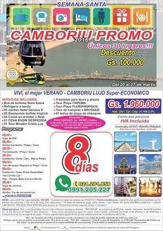PROMO de la SEMANA - 30 UNICOS Lugares!!! - Camboriu SUPER-ECO  Semana Santa