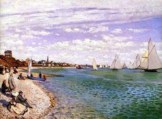 Claude Monet - Régates à Sainte-Adresse