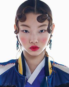 NEW KOREAN FACES   보그 코리아