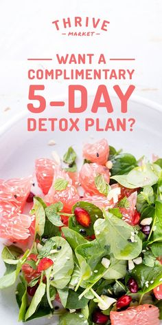 Get Thrive Market's 5-day step-by-step detox book for FREE today while supplies last! [Sp]