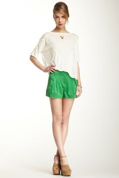 L.A.M.B.  Pleated Short
