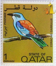 Beautiful Qatar Stamp