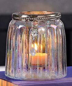 Look what I found on #zulily! Glass Tealight Candleholder by Giftcraft #zulilyfinds