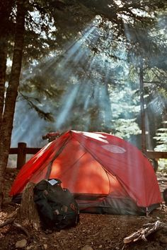 it needs to get warmer out because I wanna go camping!
