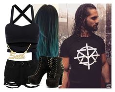 """Walking out with Seth Rollins!!!"" by carmellahowyoudoin ❤ liked on Polyvore featuring Boohoo, WWE and sethrollins"