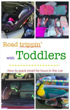 How to travel with a Toddler - Packing smart for road trips with kids
