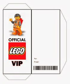 *Rook No. Recipes, Crafts U0026 Whimsies For Spreading Joy*: Free Printable  Ticket Style Party Invitations    The Lego Movie  Free Printable Ticket Style Invitations