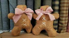 Gingerbread Man - Fabrics / Christmas / Decorations