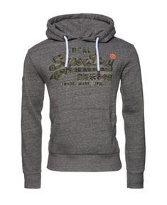 Superdry Vintage-like Logo Camo Hoodie - Light Past Camo Hoodie, Grey Hoodie, Mens Sweatshirts, Hoodies, Superdry Mens, Unisex Baby Clothes, Women's Socks & Hosiery, Cool Logo, Trendy Plus Size