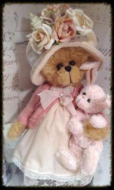 Mummy and bunny by By Shaz Bears | Bear Pile
