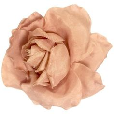 Preowned Vintage Chanel Salmon Pink Rose, Flower Silk Brooch. Very... ($238) ❤ liked on Polyvore featuring jewelry, brooches, pink, flower brooch, pink brooch, flower jewellery, rose jewelry and vintage broach