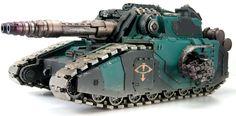Forge World - Legion Falchion Super-heavy Tank Destroyer Preview