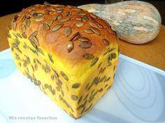 Pan de molde con calabaza y miel
