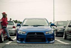 Mitsubishi Evo Slammed - StanceNation