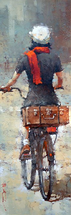 """NEW!! """"Leaving Marseille, series #3"""" by Andre Kohn. Limited Edition Print of 95 Available on our website. www.andrekohnfineart.com"""