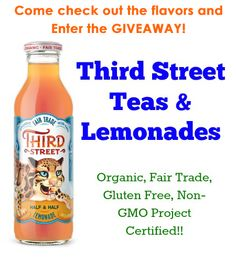 Third Street Organic Teas and Lemonades Giveaway - Giveaway Promote Open to: United States  Ending on: 06/01/2014