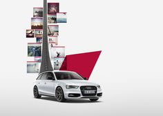 Audi SLine Campaña Internacional on Behance Audi, Car Prints, Car Backgrounds, Car Posters, Tecno, Motion Design, Print Ads, Automobile, Advertising
