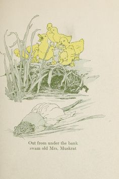 Katharine Pyle / Six little ducklings Internet Archive