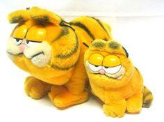 its Garfield Retro Toys, Vintage Toys, Garfield Cat, 1980s Kids, Garbage Pail Kids, Melancholy, The Good Old Days, Tigger, Childhood Memories