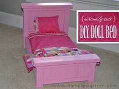{DIY Doll Bed & Quilt}