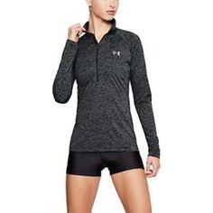 e106d5bcb Under Armour Women's Tech 1/2 Zip Twist Top Under Armour Women, Gym Workouts