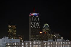 Gotta love the Pru lights