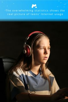 The overwhelming statistics shows the real picture of teens' Internet usage and dangers they are exposed to mostly because parents are unaware of their kids' Internet activity. 71% of teens hide what they do online from parents.