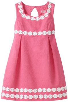 this is cute use of trim in a kids dress