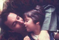 João Gilberto com a filha Bebel Gilberto