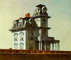 "Edward Hopper ""The House by the Railroad"""