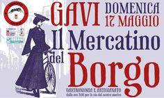 Il Mercatino del Borgo - 17 maggio 2015 Tra gastronomia e artigianato, vieni a scoprire le bellezze di #gavi #piedmont #italy