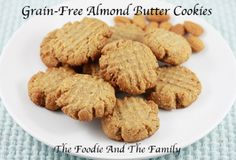 » Grain-Free Almond Butter Cookies