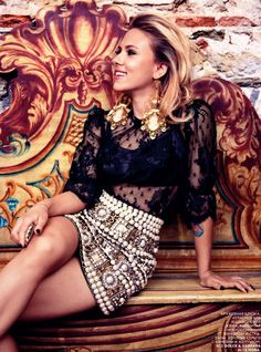 Scarlett Johansson fo Vogue Russia October 2012