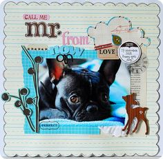 Scrapbooking | full tutorial | so easy | call to action  http://www.ninunik.com/thescrapbooking
