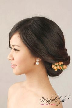 Asian wedding updo hairstyles 31 bridal hairdo, asian wedding hair, h New Bridal Hairstyle, Bridal Updo, Wedding Updo, Wedding Hairstyles, Updo Hairstyle, Asian Wedding Hair, Wedding Hair And Makeup, Asian Hair And Makeup, Hair Makeup