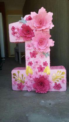 Cake birthday flowers decoration tea parties Ideas for 2019 Butterfly Birthday Party, Birthday Cake Girls, Girl First Birthday, Baby Birthday, 1st Birthday Decorations, Flower Decorations, Birthday Celebration, Birthday Parties, Tea Parties