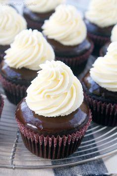 TUXEDO Cupcakes - a